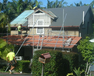 Tile to Colorbond metal roof replacement by Roofing Matters in Northern NSW - click to see more photos of roof replacements